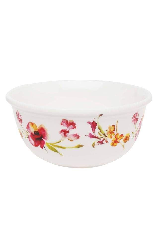 Four O Clock Round Floral Printed Soup Bowl