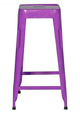 Purple Stylo Bar Stool