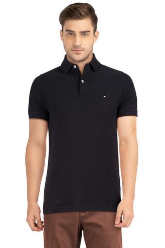 TOMMY HILFIGER -  BlackT-shirts - Main