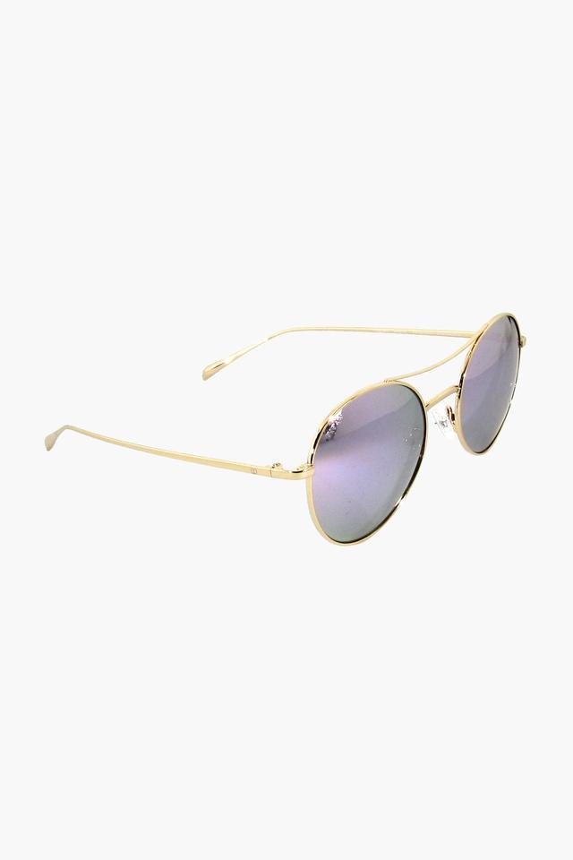 Womens Round- framed Polycarbonate Sunglasses - GM286PR2FP