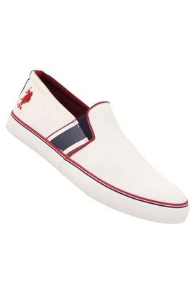 U.S. POLO ASSN. Mens Slip On Plimsolls