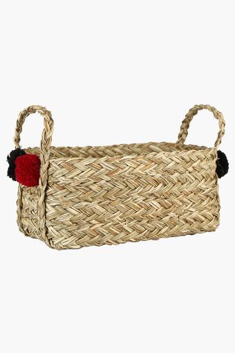 Rectangular Grass Basket - 32cm