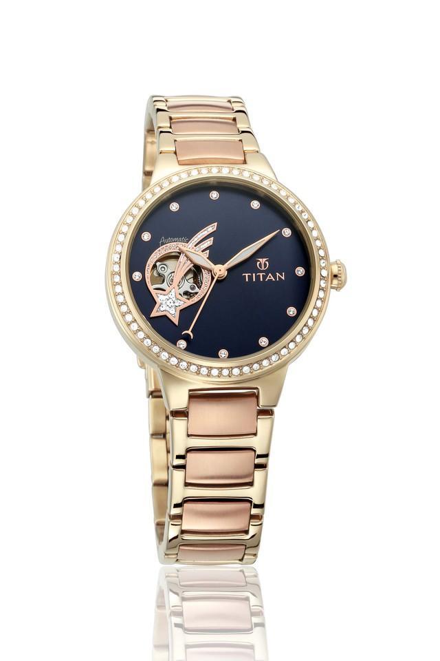 Womens Analogue Stainless Steel Watch - 95084KM01