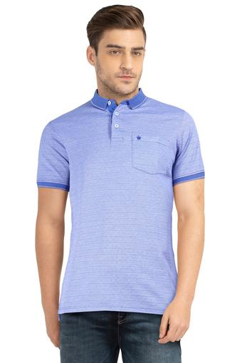 LOUIS PHILIPPE -  Light Blue T-shirts - Main