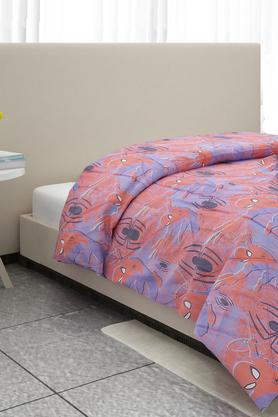 Spiderman Print Single Comforter