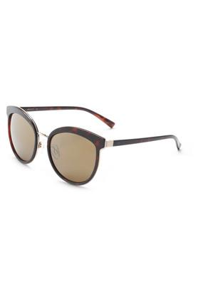 Womens Full Rim Cat Eye Sunglasses - 2201 C3 S