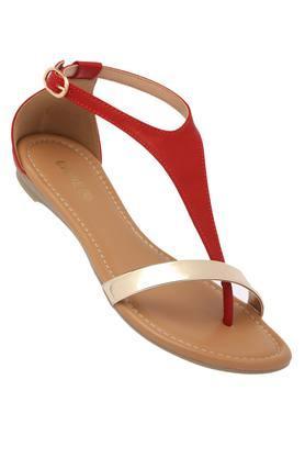 LAVIEWomens Casual Wear Buckle Closure Flats - 202520440_9607