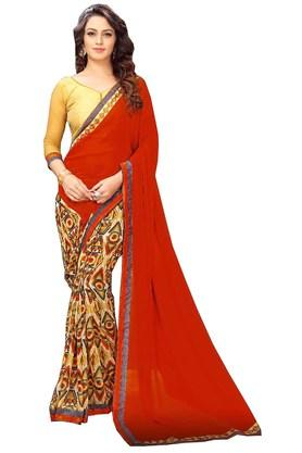 Womens Banglori Silk Designer Saree
