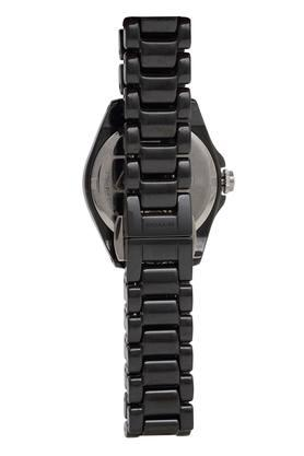 Womens Black Dial Analogue Watch - CO14503255W