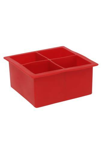 Square Solid Silicone Jumbo Ice Cube Tray
