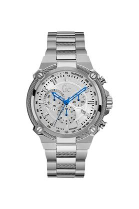 GUESSMens Sport Chic Collection Mens Stainless Steel Chronograph Watch - Y24007G1