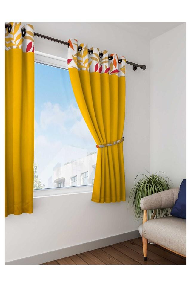 Solid Window Curtain