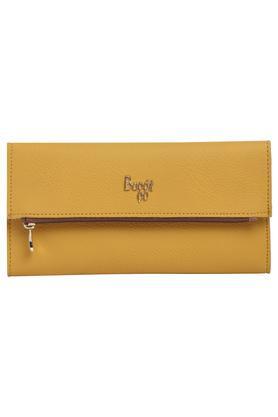 Womens Casual Wear Zip Closure 2 Fold Wallet