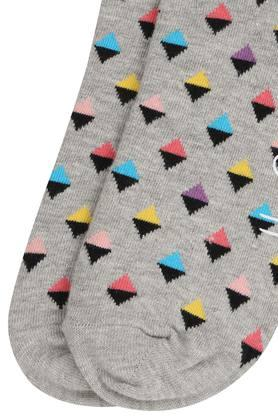 Mens Printed Ankle Length Socks
