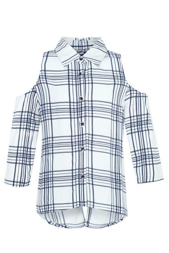 Girls Checked Shirt