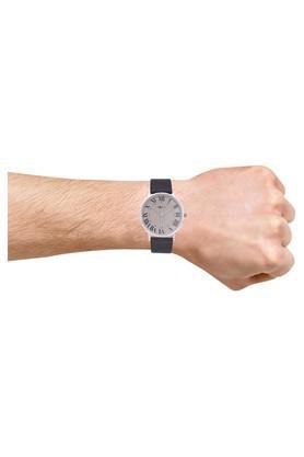 Mens Slimline Series Grey Dial Analog Watch - PB817MLGR41