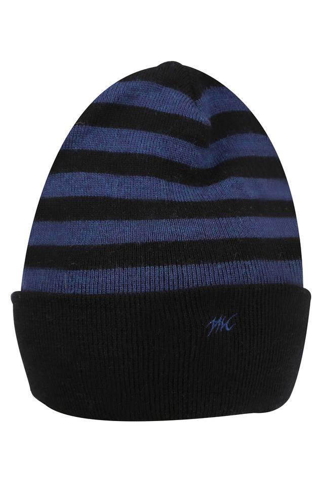 Mens Stripe Knitted Cap