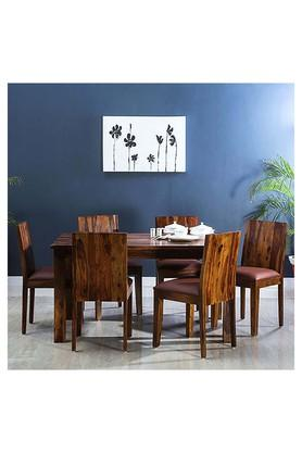Brown Ruby 6 Seater Dining Set