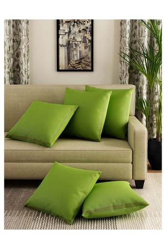 Solid Cushion Cover Set Of 5