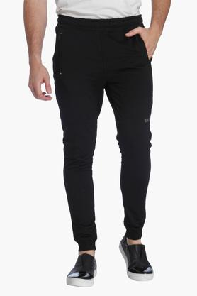 JACK AND JONES Mens Solid Casual Joggers