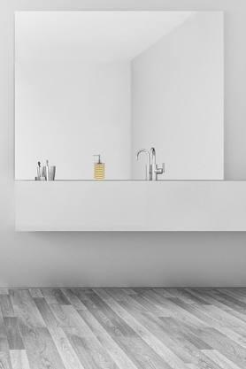 Striped Soap Dispenser
