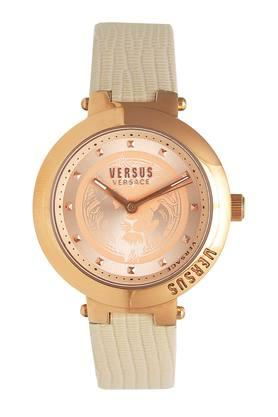 Womens Rose Gold Dial Analogue Watch - VSPLJ0319
