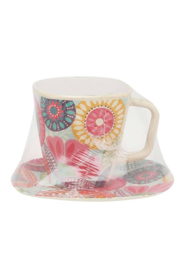 Round Fantasia Printed Cup and Saucer