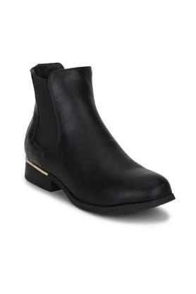 Womens Casual Wear Slip On Ankle Boots