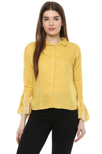 FRATINI WOMAN -  Mustard Shirts - Main