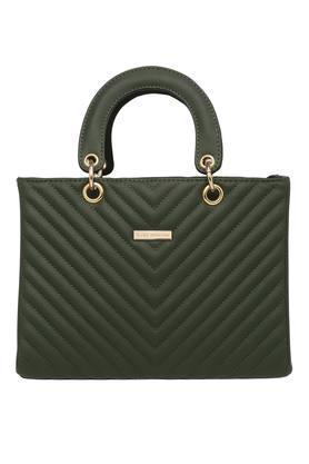 ELLIZA DONATEINWomens Zipper Closure Satchel Handbag - 203879691_9463