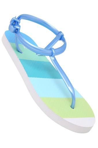 Womens Casual Wear Loop Closure Flip Flops