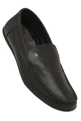 BLACKBERRYS Mens Leather Slipon Loafers