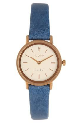 Womens Off-White Dial Analogue Watch - 6045-06