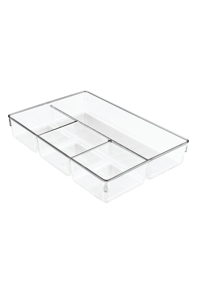 Drawer Organizer with 4 Compartments