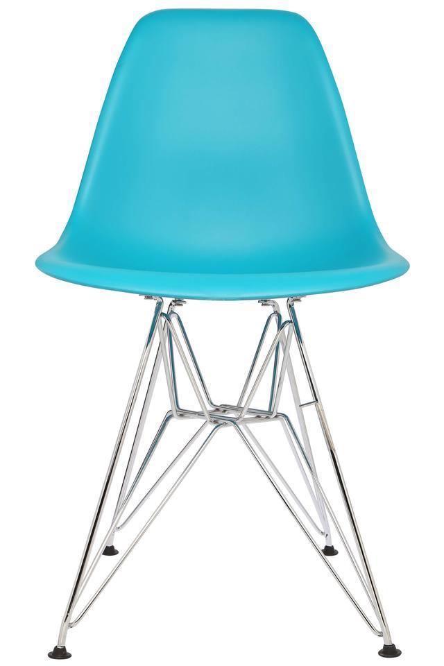 Solid Chrome Leg Chair