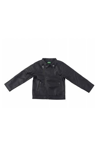 UNITED COLORS OF BENETTON -  Black Topwear - Main