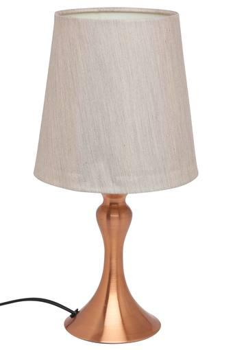 Round Slub Table Lamp