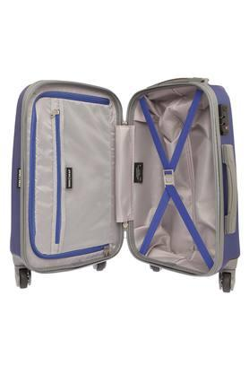 Unisex 1 Compartment Zipper Closure Hard Trolley