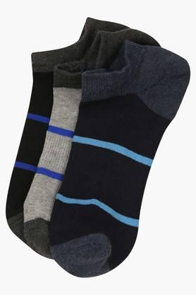 STOP Mens Stripe Socks Pack Of 3 - 203141189