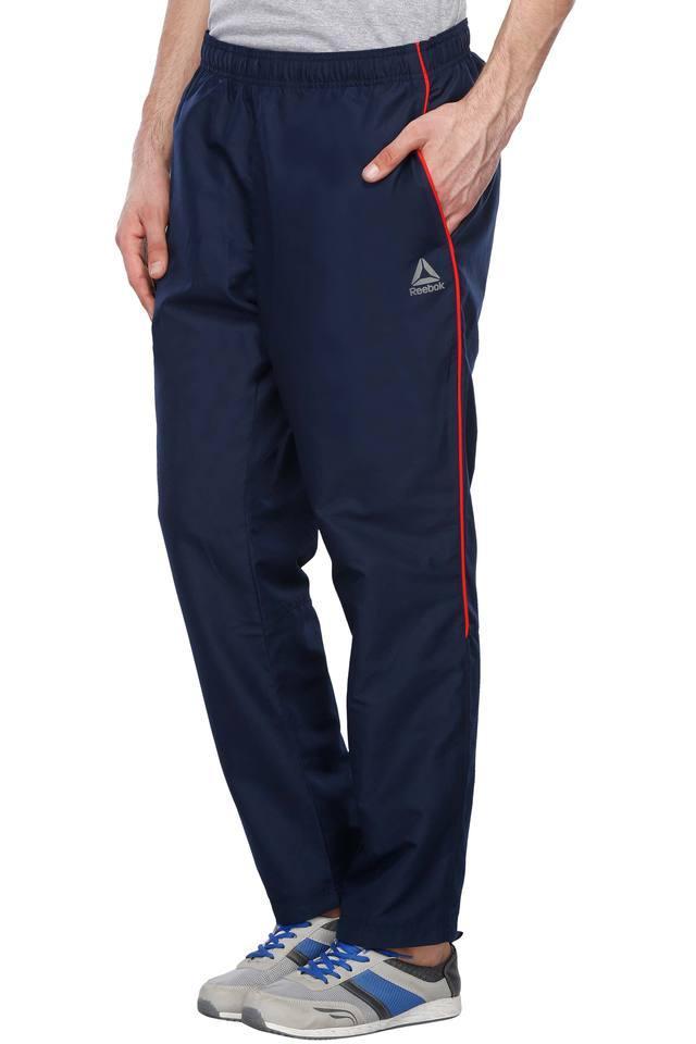 Mens 3 Pocket Solid Track Pants