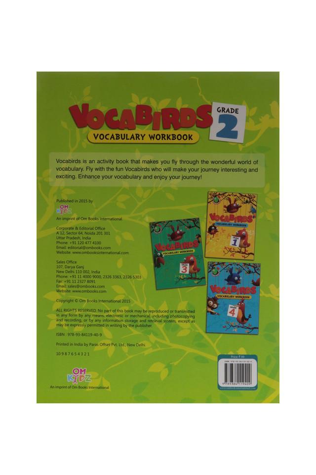Vocabirds Vocabulary Work Book - 2