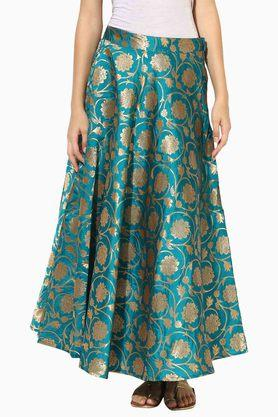 JUNIPER Womens Printed Flared Skirt - 203363059