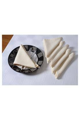 Solid Dinner Napkin Set of 6