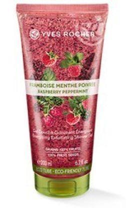 Energizing Exfoliating Shower Gel - Raspberry Peppermint - 200 ML