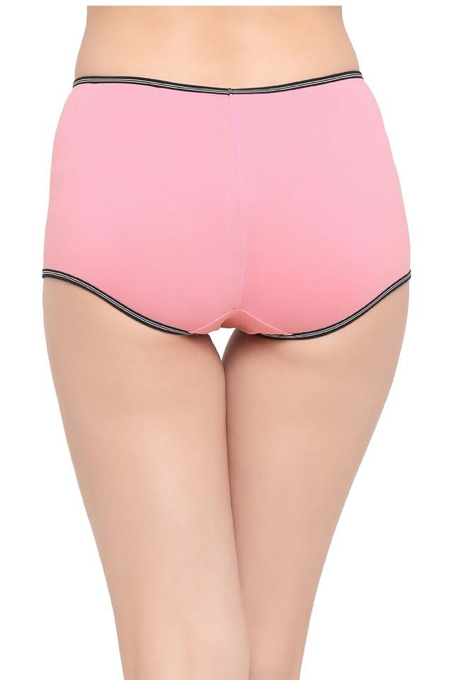 Womens Solid Boy Shorts