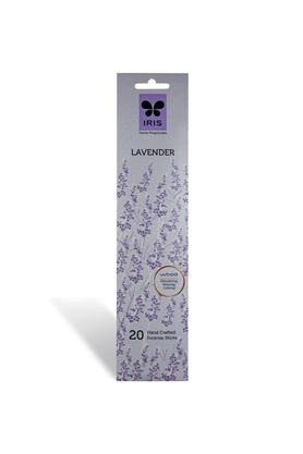 IRIS Lavender Combo Pack Handcrafted Incense Stick - 20 Sticks