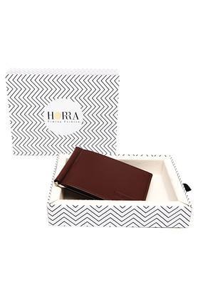 HORRAMens PU Leather 1 Fold Wallet - 204840821_9126