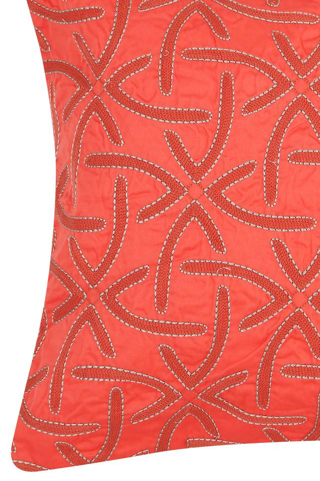 Square Embroidered Modern Aesthetic Cushion Cover