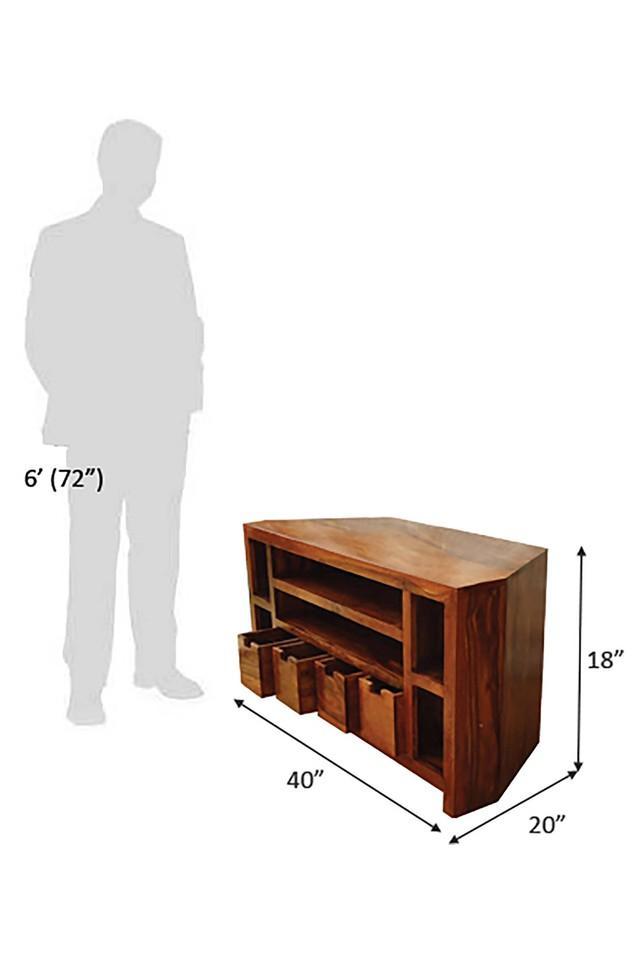 Brown Ben TV Cabinet Unit