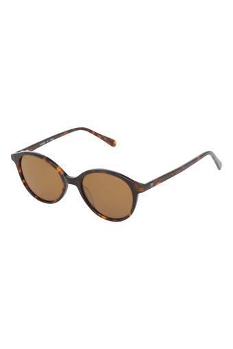 Womens Full Rim Round Sunglasses - GP354BR2P